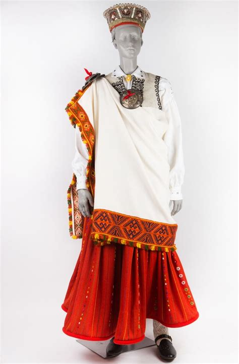 Nīcas meitas tērps   Lithuanian clothing, Clothes ...