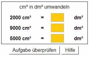 Liter Berechnen Cm : volumen raummasse erkl rungen und bungen mit l sungen ~ Themetempest.com Abrechnung