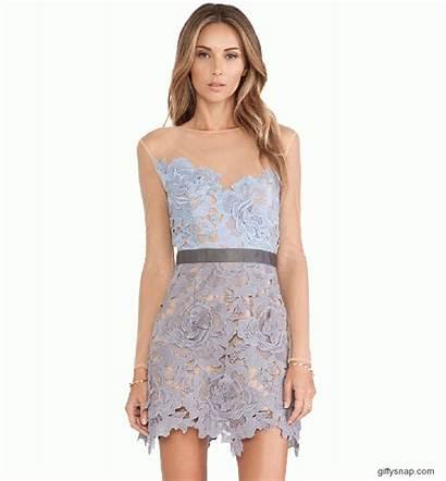 Prom Lace Sheer Crochet Sleeve Sheinside Queen
