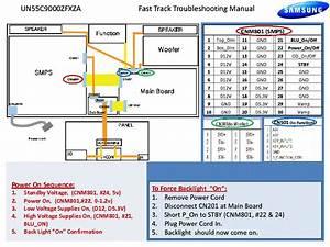 Samsung Un55c9000zfxza Fast Track Guide Service Manual