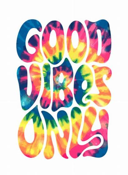 Vibes Dye Vsco Positive Tie Hippie Spiral