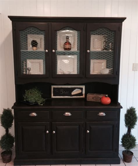 Hutch Painting Ideas by Hometalk Painting An Antique Hutch Like New