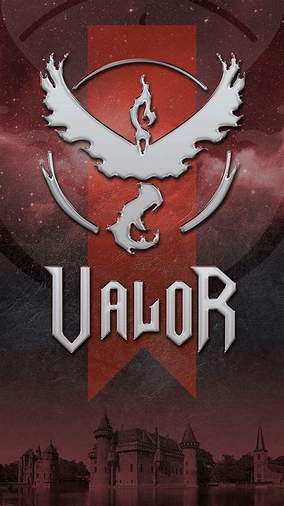 Team Valor Pokemon Wallpapers Wallpapercave Teams Phone
