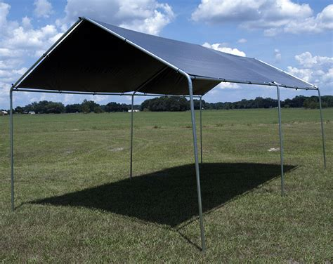 Lost Woods 10' X 20' Car Port Canopy Kit (12' X 20' Silver