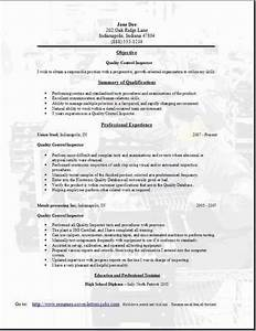 Qa Tester Resume Sample One  Occupational Examples Samples