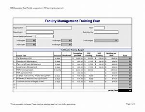 9 best images of training budget proposal training plan With simple training plan template