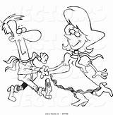 Square Dancing Coloring Couple Cartoon Dance Outline Pages Dancer Template Sketch Leishman Clipart sketch template