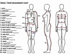 Customize Dress Shirt Measurement Chart Of Diamond De