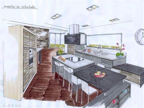 perspective cuisine etudes cuisines 2c créations