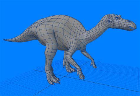 Maiasaura Dinosaur 3d Model .max .obj .3ds .lwo .lw .lws