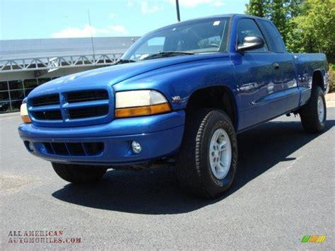 1997 Dodge Dakota Slt Extended Cab 4x4 In Brilliant Blue