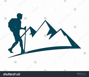 Mountaineer Icon Stock Vector 407966671 - Shutterstock
