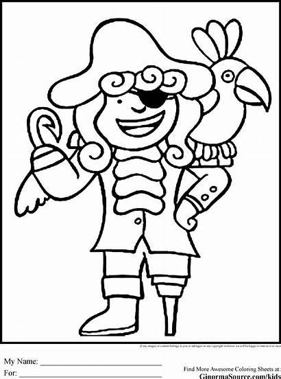 Pirate Coloring Pages Printable Sheets Pirates Colouring