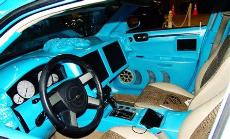 Custom Painted Fiberglass Dash With Tvs Custom