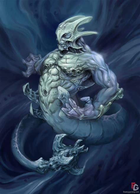 monstruo marino