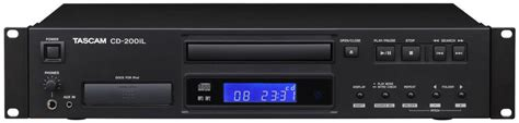 tascam cd player with 30 pin lightning ipod dock long