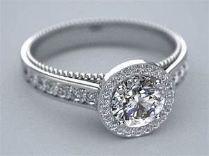 halo style milligran engagement ring by lupusk9 on deviantart With halo style wedding rings