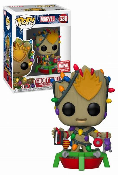 Groot Funko Pop Marvel Holiday Toys Exclusive