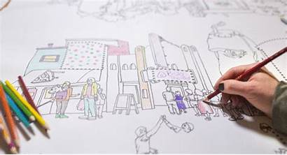 Coloring Sketch Sketching Students Animated National Gifs