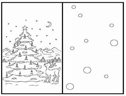 Coloring Christmas Cards Kittybabylove Joyful Source Xyz