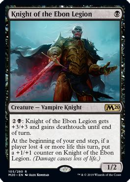knight   ebon legion  core set  spoiler
