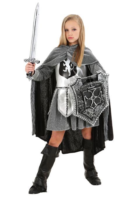 Girlu0026#39;s Warrior Knight Costume