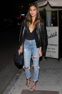 Jamie Chung Wears GRLFND Petite Karolina Skinny Jeans   The Jeans Blog