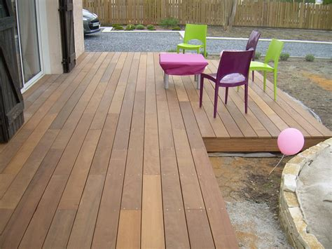 prix terrasse bois posee connexion bois direct votre terrasse en itauba