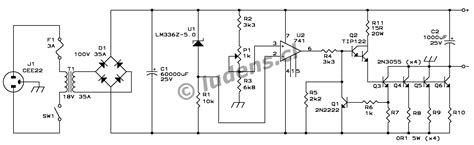 Linear Power Supply Circuit