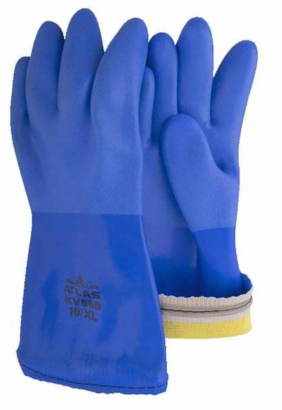 Gloves Pvc Dipped Triple Chemical Standard Safety