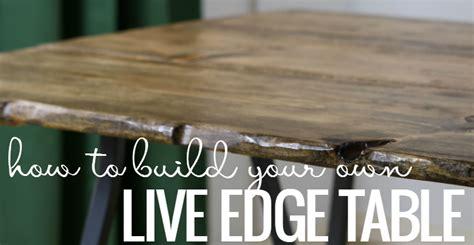 remodelaholic diy  edge table tutorial
