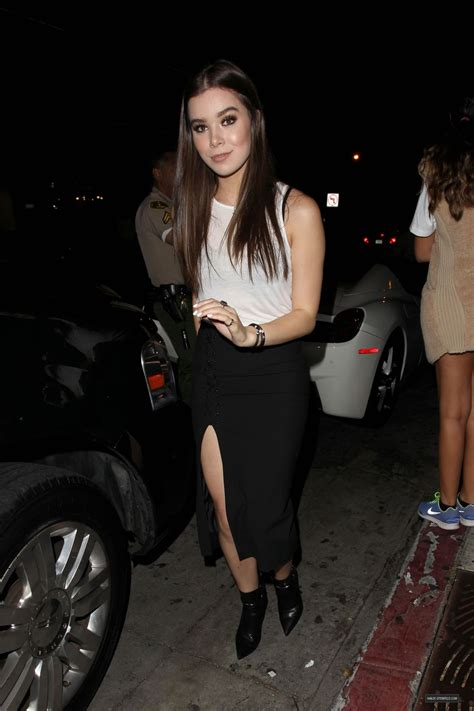 HAILEE STEINFELD at Kylie Jenner's 18th Birthday Party in ...