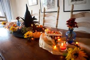 Halloween Party Table Decorations
