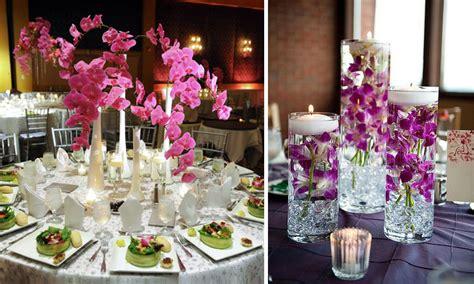 decoración de bodas arreglos florales para centros de mesa