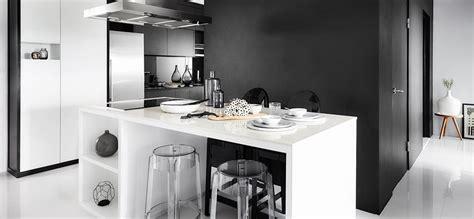 inspired   chic black  white hdb flat