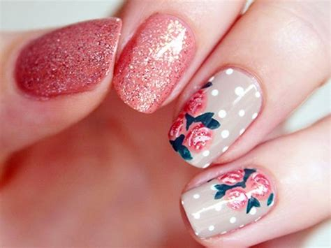 Cute Flower Designs For Nails Ivoiregion