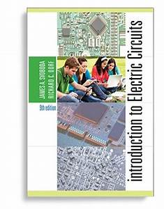 Introduction To Electric Circuits 9th Edition By James A  Svoboda  Ebook Pdf