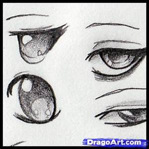 Drawing Anime Eyes, Step by Step, Anime Eyes, Anime, Draw ...
