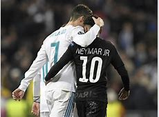 Cristiano Ronaldo taught Neymar a lesson in how sometimes