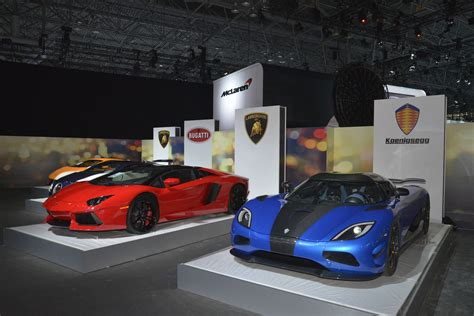 koenigsegg fast and furious 7 huracan veyron aventador and agera s at 2015 nyias new