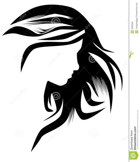 hairstyle stock illustration illustration  hair strand
