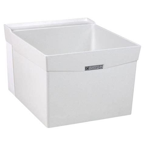 mustee laundry sink wall mount mustee utilatub 20 in x 24 in fiberglass wall mount
