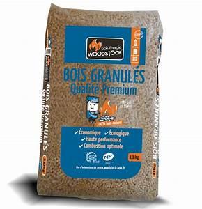 Pellets De Bois : combustibles parisiens sac de granul s bois woodstock ~ Nature-et-papiers.com Idées de Décoration