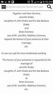 wedding invitation wording deceased father wording for With wedding invitation etiquette for deceased parent