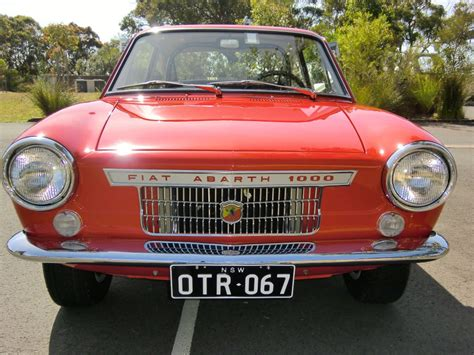 1965 Fiat Ot 1000 Coup Abarth Related Infomation