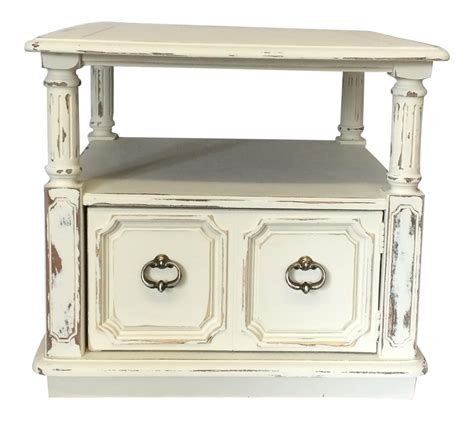 shabby chic accent tables shabby chic accent table chairish
