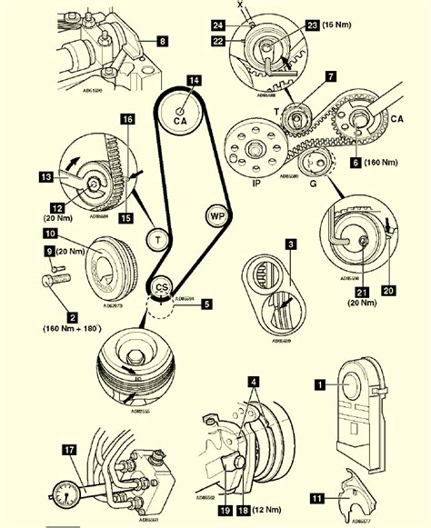 46 timing marks diagram wiring diagram