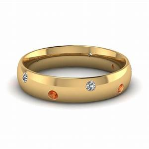 classic dome diamond comfort fit wedding ring for men with With mens diamond encrusted wedding rings