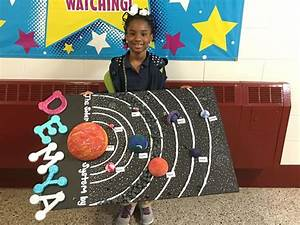 Solar System with asteroid belt #project | School Projects ...