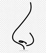 Nose Coloring Clipart Calligraphy Pinclipart Ose Template Noose Clip sketch template